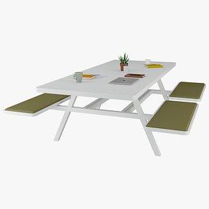 nurus picnic office 3D model