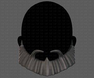 hair hairstyle beard 3D model