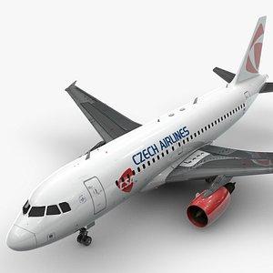 3D AirbusA319-100CZECH AirlinesL1421