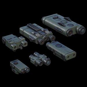3D PEQ Units 01 GREEN