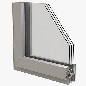 3D Triple Glazed Windows