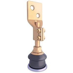 3D connector insulator ceramic model