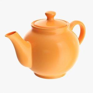 3D Ceramic teapot 01