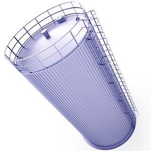 Milk Silo 36 3D model