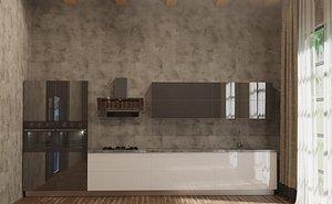 3D kitchen 04