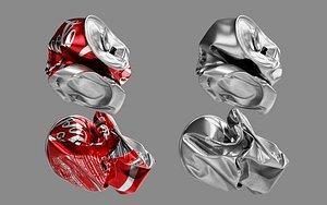 3D crushed soda