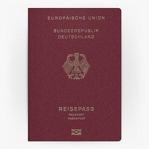 GERMANY Passport 3D model