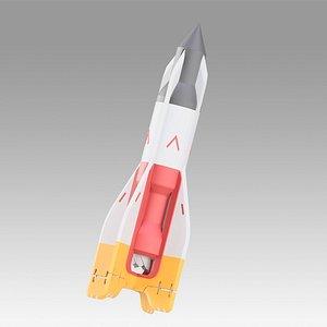 Apex Legends bangalore rocket replica prop 3D model