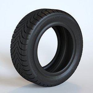 3D Tire Michelin Alpin A4