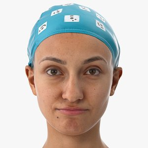 3D joy human head lip