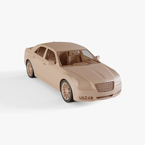 3D chrysler 300