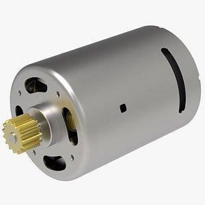 3D DC Electric Motor model