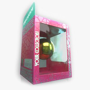 3D NFT Collectible Box Template
