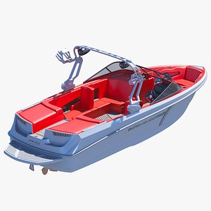3D Wakeboard Boat Nautique Super Air 230