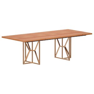 Hayes 94 Rectangular Dining Table 3D model