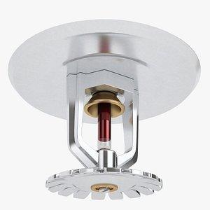 Fire Sprinkler Heads 01 3D model