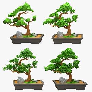 bonsai style 3D model
