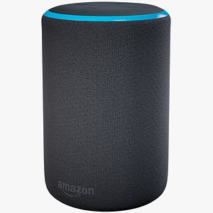 3D model Amazon Echo Plus Gen 2 Dark Skin