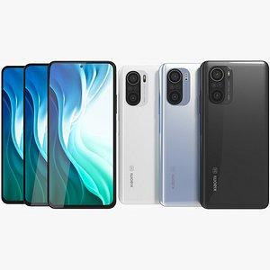 Xiaomi Mi 11i All Colors 3D