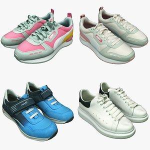 3D Shoe Collection 21