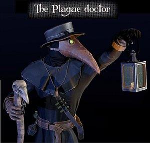 3D Plague Doctor