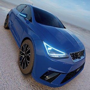 3D model Seat Ibiza 2022