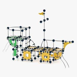 3D Lappset Carraxx Play Ship