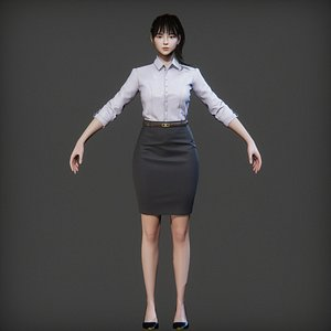 working suit 3D model