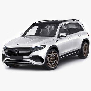 Mercedes-Benz EQB 2022 3D