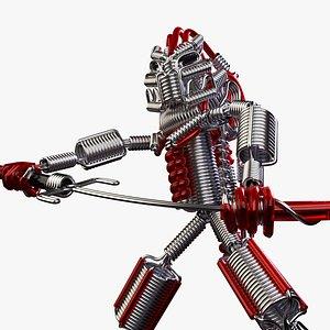 Wired Predator model
