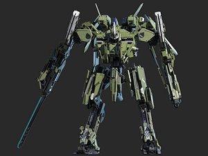 mech robot model