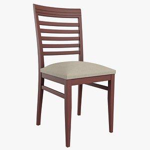 3D living chair wooden