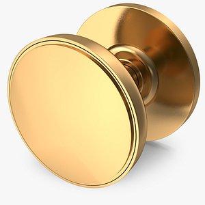 door knob golden model