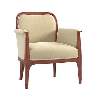 alfred grenander armchair 3D model