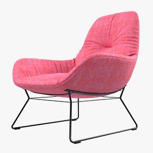 3D chair armchair cushion