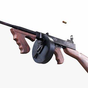 1928 - tommy gun 3D model