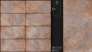 3D Decovita Alchemy Brown 600x1200 2013
