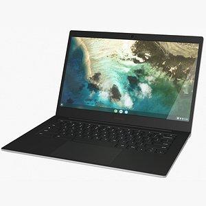 Samsung Galaxy Chromebook Go Rigged 3D model