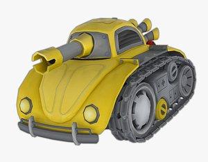 Stylized Beetletank