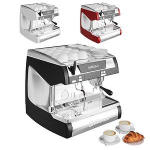 aurelia small coffee machine 3D model