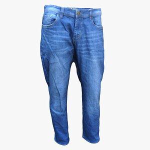 men´s jeans clothes 3D model
