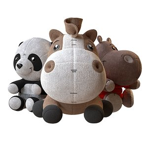 soft toys set model