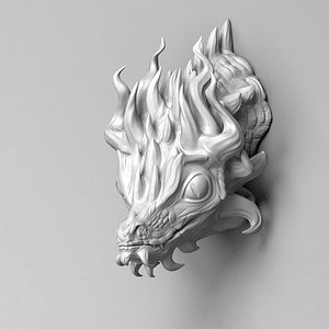 dragon head 3D