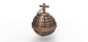 3D holy grenade