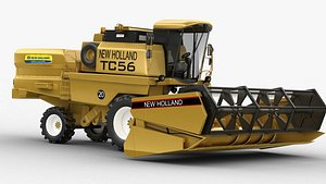 3D model holland tc59 harvester