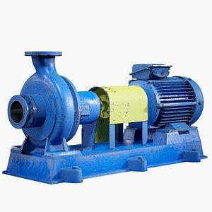 centrifugal water pump model