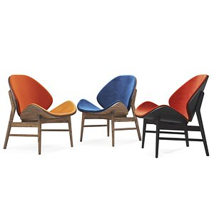 lounge orange 3D model