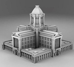3D Great build in Chicago model