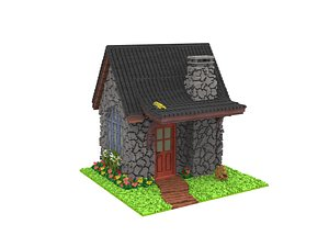 3D cabin art