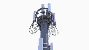 3D cell site tower